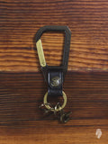 Carabiner Key Holder in Black