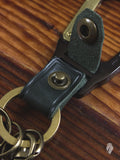 Carabiner Key Holder in Green