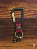 Carabiner Key Holder in Red
