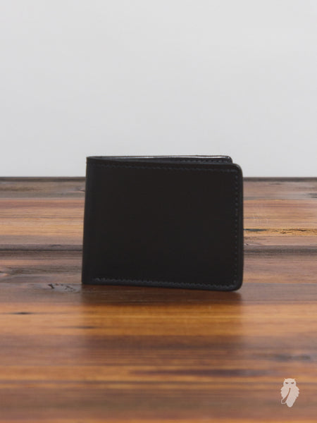 """Utility Bifold"" Wallet in Black"