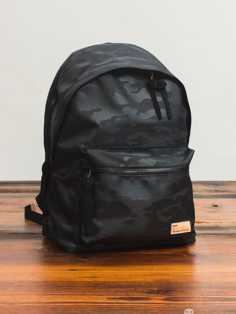 Glossa Backpack in Black Camo