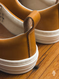 """BFF"" Bull Terrier Low Top Sneaker in Natural"