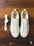 Bull Terrier Low Top Sneaker in White