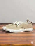 Corgi Low Top Sneaker in Grey Suede