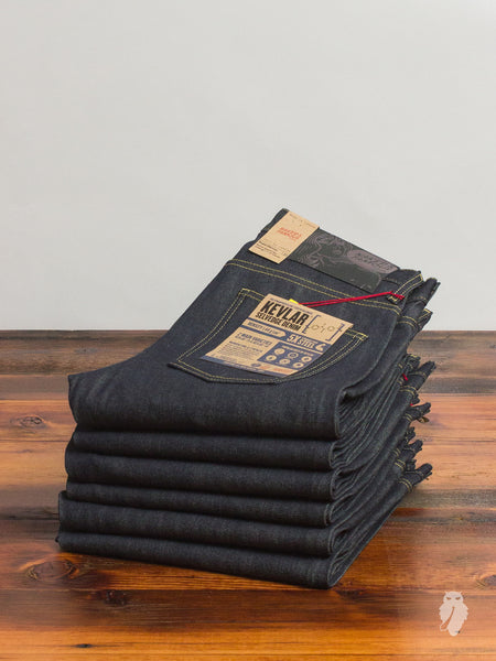 """Kevlar Selvedge"" 13oz Selvedge Denim - Super Skinny Guy Fit"
