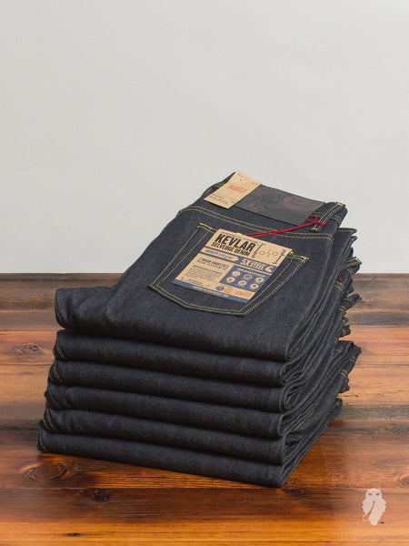 """Kevlar Selvedge"" 13oz Selvedge Denim - Weird Guy Fit"