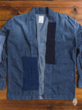 Haori Western Denim Shirt in Natural Indigo Remake