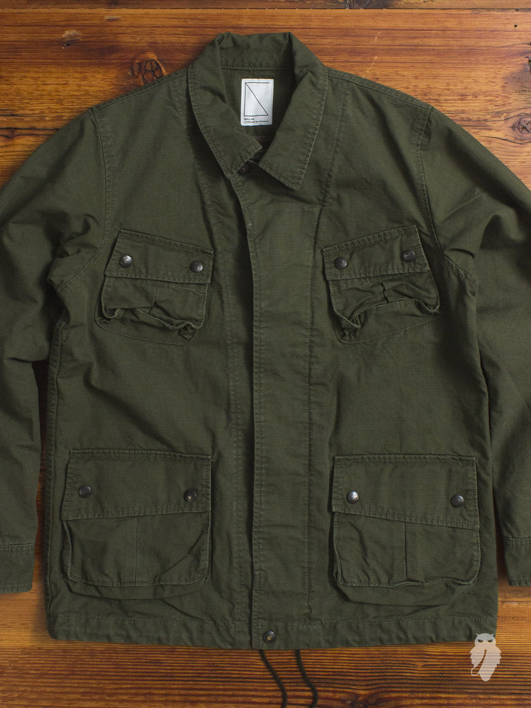 M42 Military Reconstruction Jacket in Army