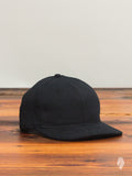 6-Panel Hat in Black