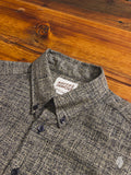 """Kimono Scramble"" Button Down Shirt in Indigo - Regular Shirt Fit"