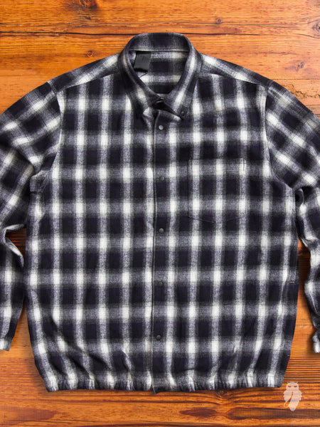 Coaches Jacket in Black Check