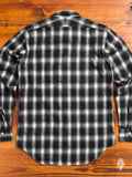Shadow Brushed Flannel in Black