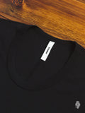 U-Neck T-Shirt in Black