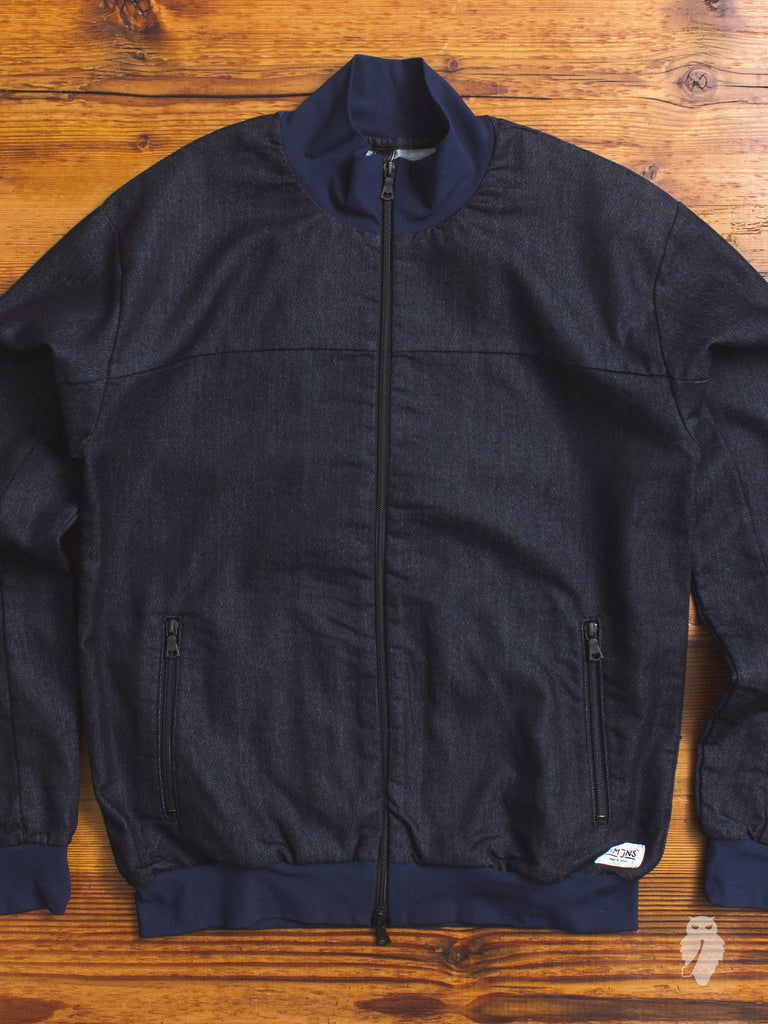 German Blouson Jacket in Indigo
