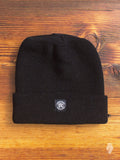 Merino Wool Toque in Black