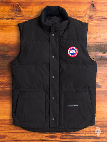 """Freestyle"" Vest in Black"