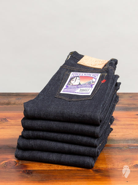 """Made in Japan 4"" 21oz Loomstate Tenpi Selvedge Denim"