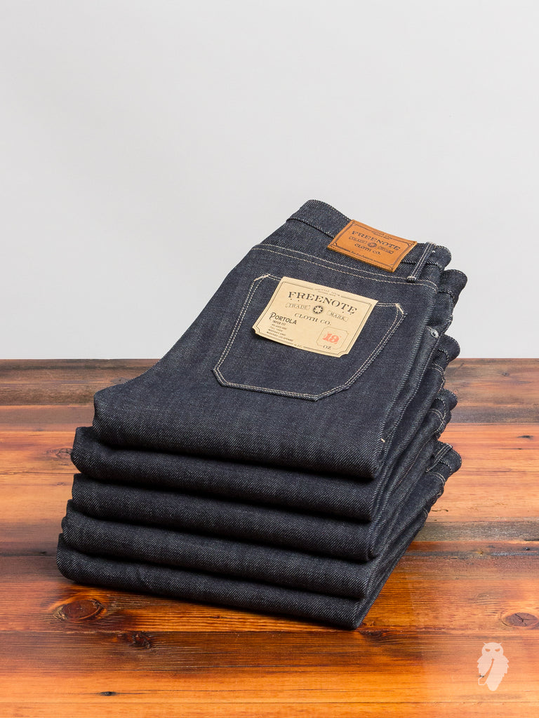"""Portola"" 19oz Selvedge Denim - Tapered Fit"