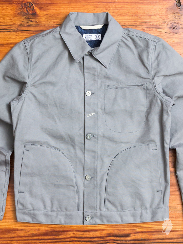 Lined Supply Jacket in Grey