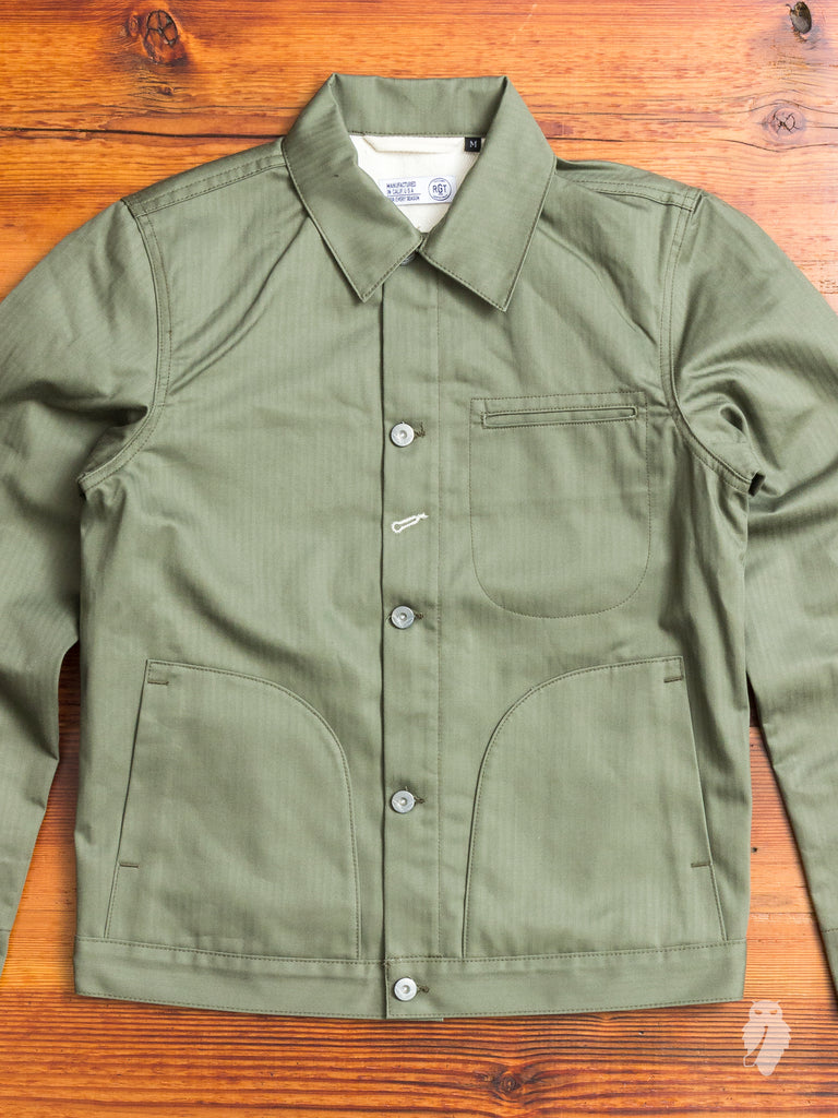 Lined Supply Jacket in Olive