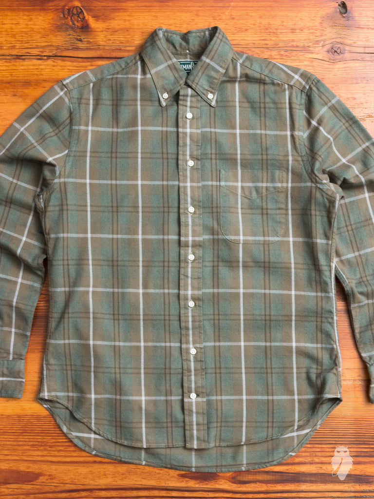 Woodland Hunters Flannel in Sage