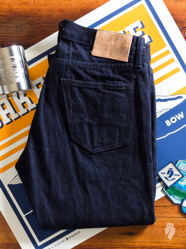 "Scout Edition ""Expedition 2"" 16.75oz Unsanforized Selvedge Denim in SK"