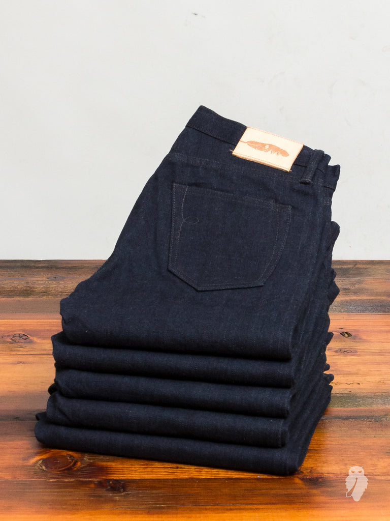 """Expedition 2"" 16.75oz Unsanforized Selvedge Denim in Stanton"