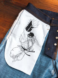 "Street Fighter II ""Hadouken Selvedge"" 12.5oz Selvedge Denim - Weird Guy Fit"