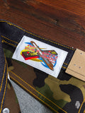 "Street Fighter II ""Sonic Boom Selvedge"" 12.5oz Selvedge Denim - Super Skinny Guy Fit"