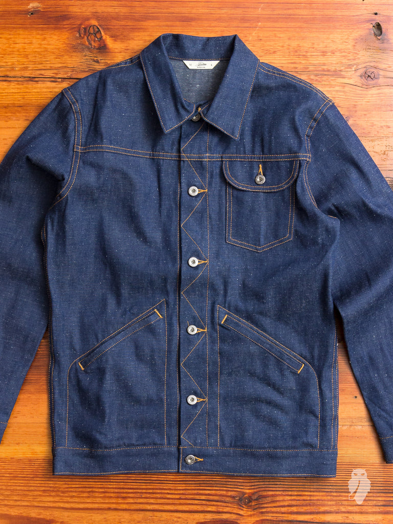 Ranch Jacket in Indigo Nep