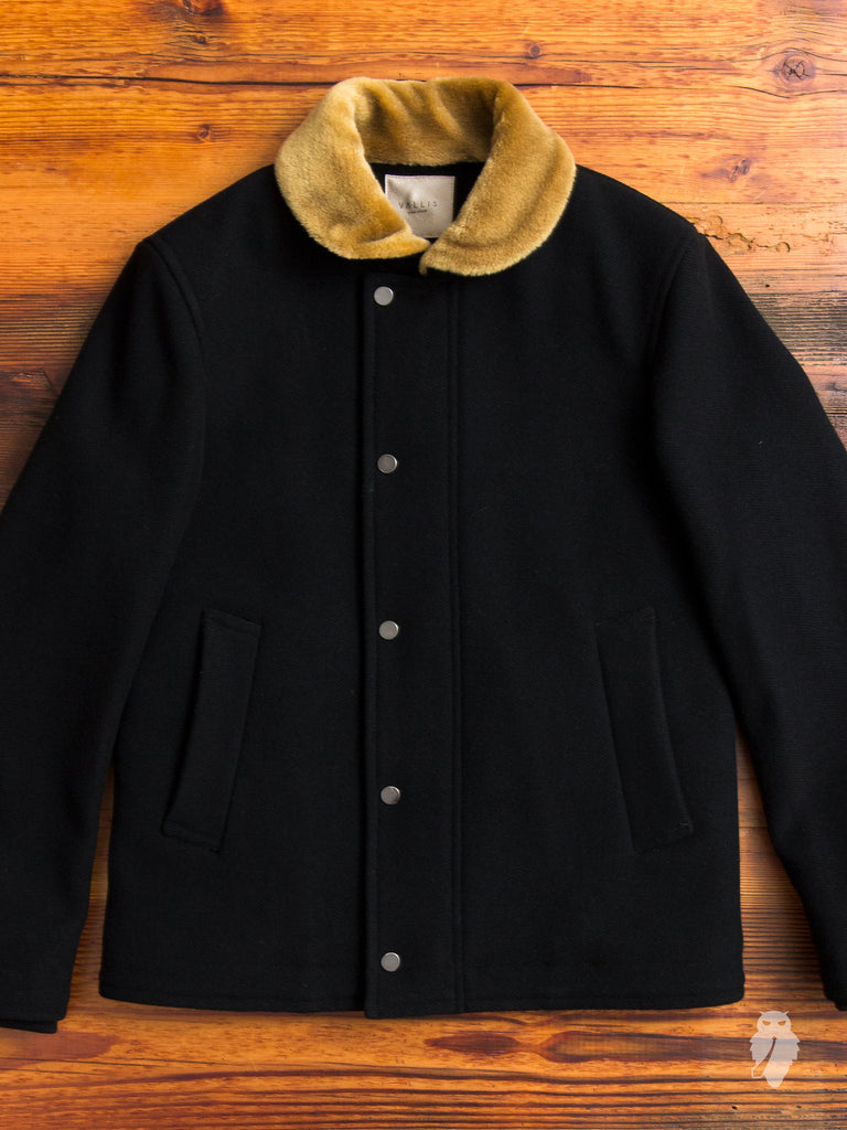 Deck Coat in Black