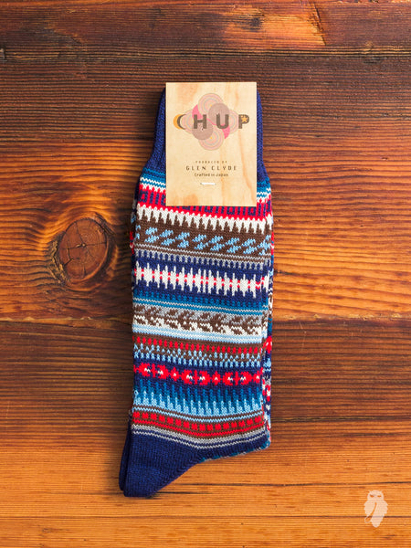 Vivienda Sock in Blue