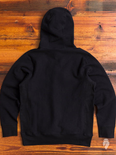 Heavyweight Pullover Hoodie in Black
