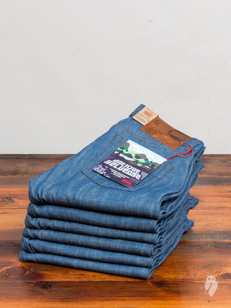"""Antique Selvedge"" 9oz Selvedge Denim - Weird Guy Fit"