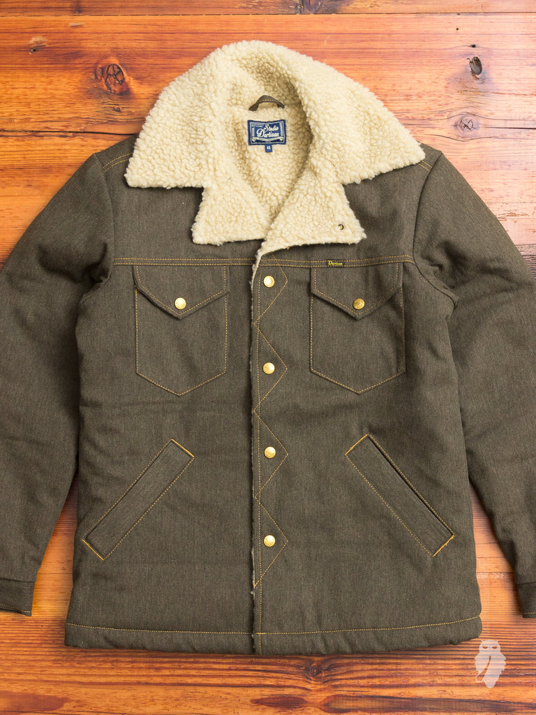 Sherpa Ranch Jacket in Army