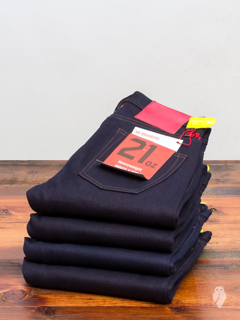 UB477 Heavyweight 21oz Selvedge Denim - Tight Fit