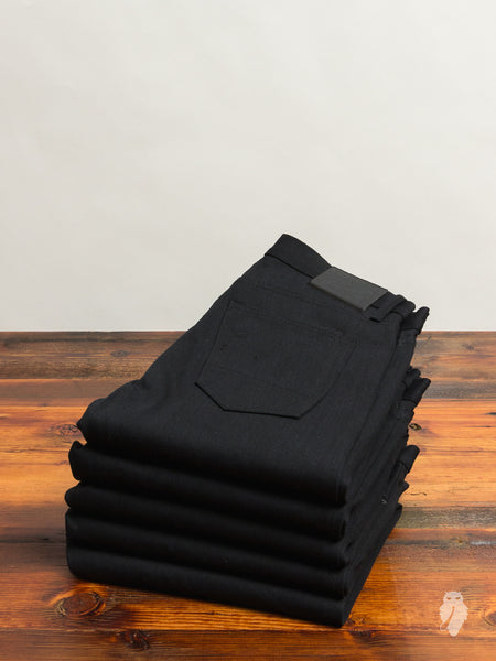 """Stealth SK"" 17oz Selvedge in Black"