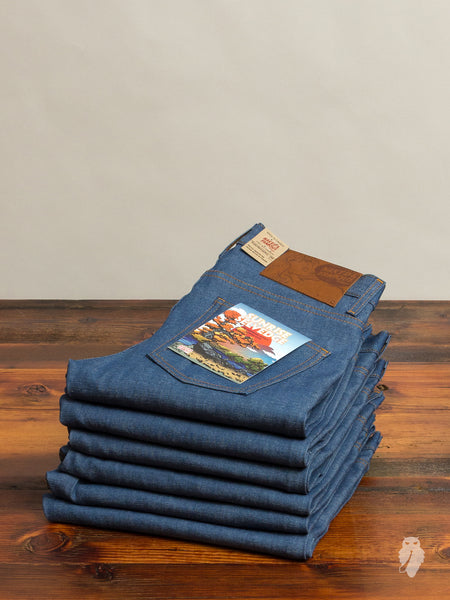 """Sunrise Selvedge"" 10oz Selvedge Denim - Super Skinny Guy Fit"