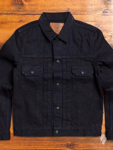 6066 13oz Type-2 Denim Jacket in Deep Indigo