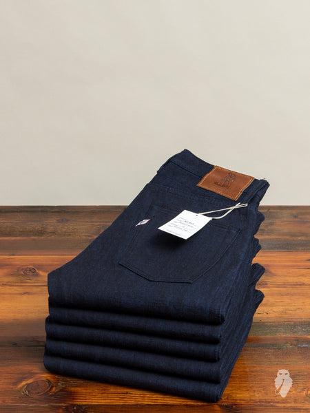 "XX-017 14oz ""Cobalt Weft"" Unsanforized Selvedge Denim - Slim Tapered Fit"