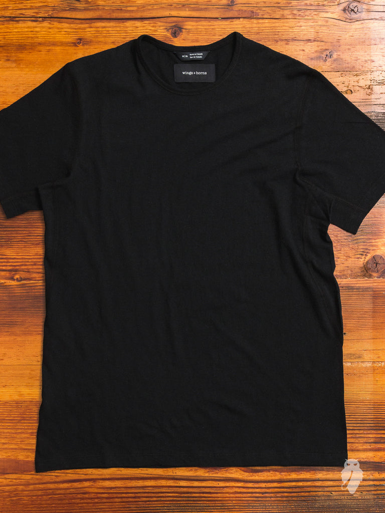 Premium Jersey T-Shirt in Black