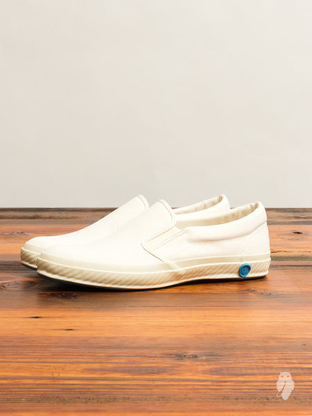02JP Slip-On Sneaker in White