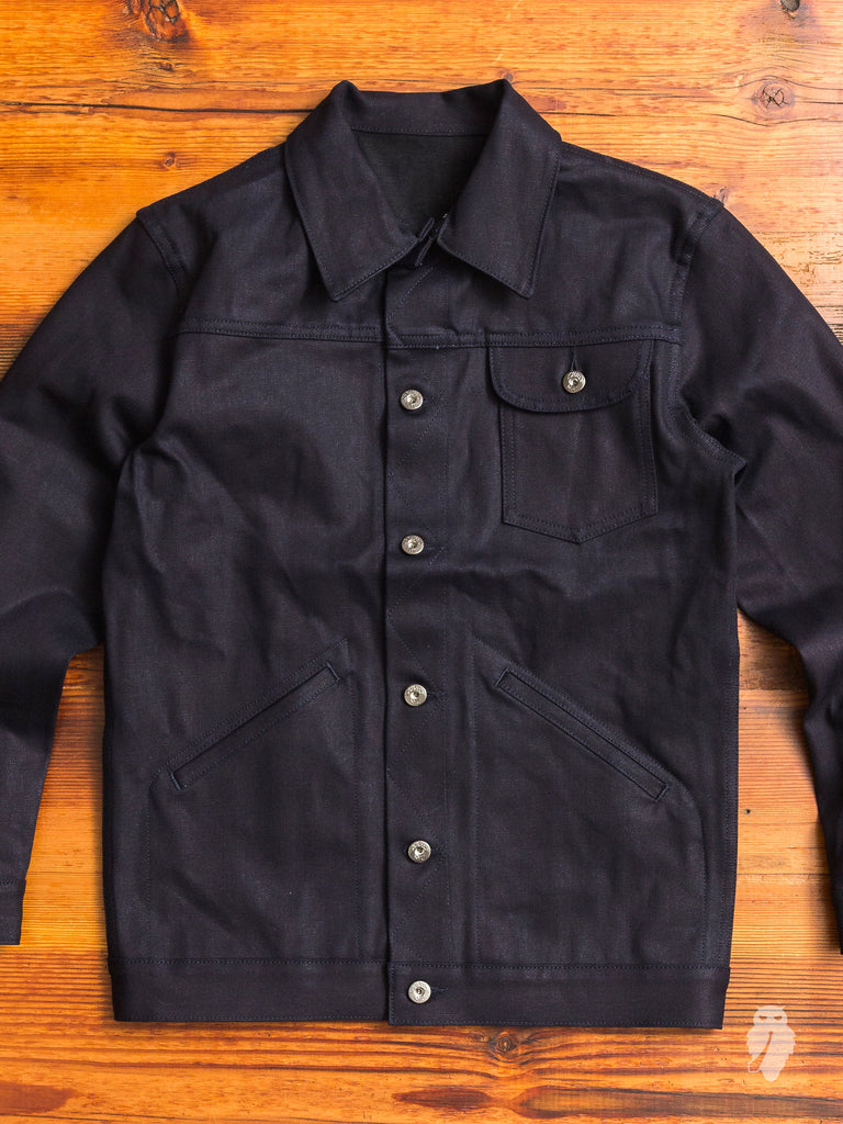Ranch Jacket in Shadow Selvedge
