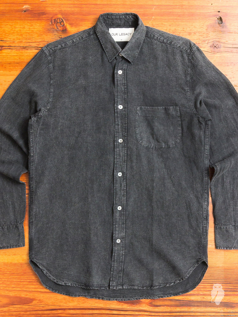 Generation Shirt in Distressed Linen