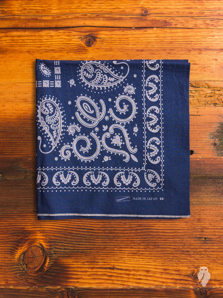 Selvedge Bandana in Indigo