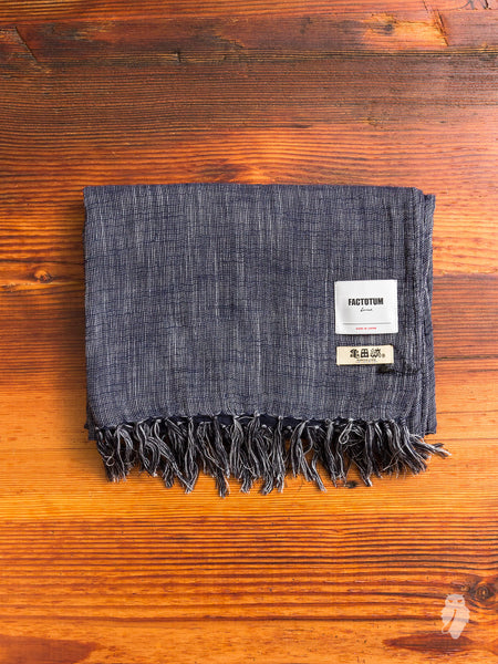 Kameda-Jima Scarf in Navy