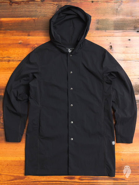"""Sea to Sky"" Sideline Jacket in Black"