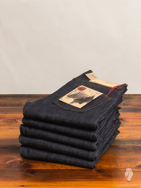 """Japan Heritage"" 14oz Selvedge Denim - Super Skinny Guy Fit"