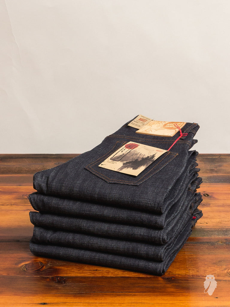 """Japan Heritage"" 14oz Selvedge Denim - Weird Guy Fit"