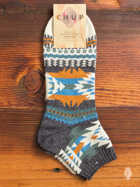 Permian Ankle Sock in Grey